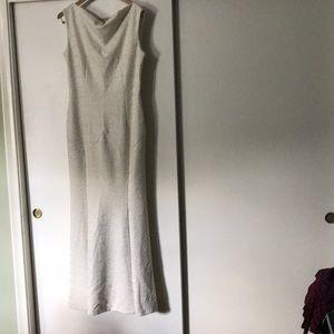 Cream Lace Mermaid Dress